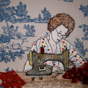 woman sewing maria walker
