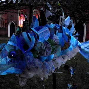 big blue fish by Anna Roebuck