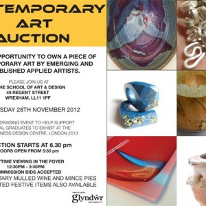 ART AUCTION leaflet 2012